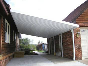 attached carport kits