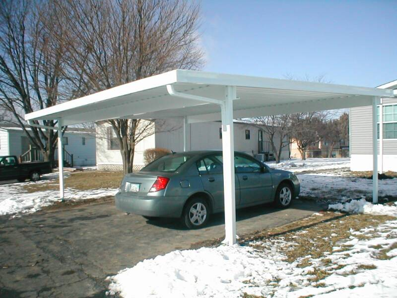 Carport and patio cover kits made in the USA, Pre engineered to size on